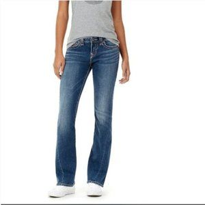 True Religion Becca Mid Rise Bootcut Jeans 26 NWT